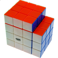 Calvin's 3x3x5 L-Cube with Evgeniy logo - Stickerless - Other Rotational Puzzles