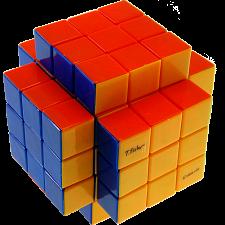 3x3x5 Cross-Cube with Fisher & Evgeniy logo Stickerless -