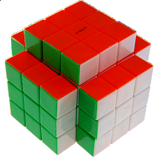 Calvin's 3x3x5 Temple-Cube with Evgeniy logo - Stickerless - Rubik's Cube & Others