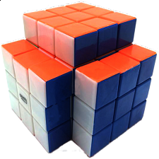 Calvin's 3x3x5 Trio-Cube with Evgeniy logo - Stickerless - Rubik's Cube & Others