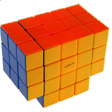 Calvin's 3x3x5 T-Cube with Evgeniy logo - Stickerless - Rubik's Cube & Others