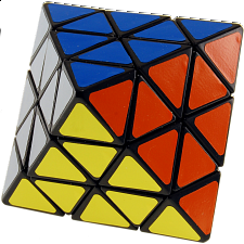 Lanlan Octahedron Black Body (Face Turning) - Rubik's Cube & Others