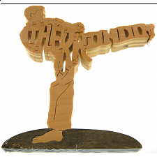 Tae Kwon Do Martial Arts - Wooden Jigsaw - 1-100 Pieces