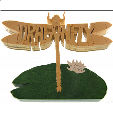 Dragonfly - Wooden Jigsaw
