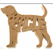 Beagle - Wooden Jigsaw - Wooden Jigsaws