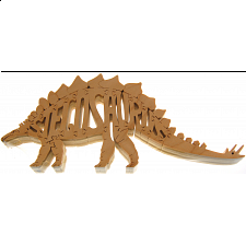 Stegosaurus - Wooden Jigsaw - 1-100 Pieces