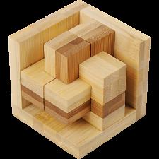 Funzzle - Bamboo Wood Puzzle - Epsilon -
