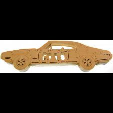 Pontiac GTO - Wooden Jigsaw