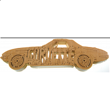 Corvette - Wooden Jigsaw