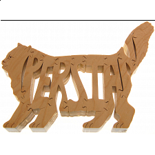Persian Cat - Wooden Jigsaw