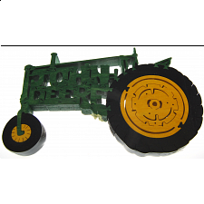 John Deere Old Tractor - Wooden Jigsaw - 1-100 Pieces