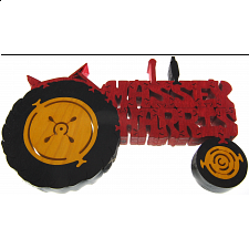 Massey Harris Tractor - Wooden Jigsaw