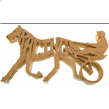 Harness Racing - Wooden Jigsaw