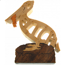 Pelican Bird - Wooden Jigsaw
