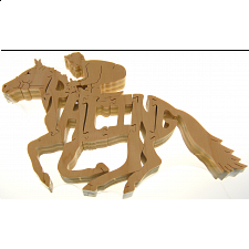 Horse Racing - Wooden Jigsaw
