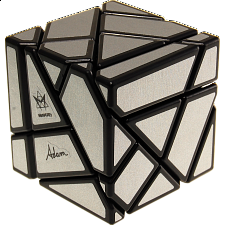 Ghost Cube - Matt Silver Labels -
