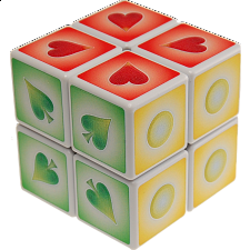 2x2x2 Braille Cube 1 - Other Rotational Puzzles
