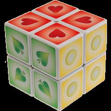 2x2x2 Braille Cube 1