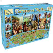Carcassonne Big Box 2017 - Strategy Games