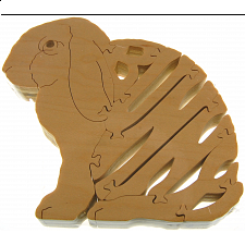 Bunny Rabbit - Wooden Jigsaw - Wooden Jigsaws
