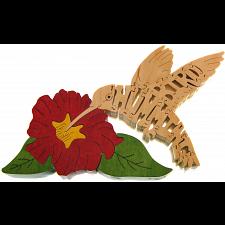 Hummingbird - Wooden Jigsaw Puzzle