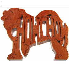 Chow Chow Dog - Wooden Jigsaw - Wooden Jigsaws