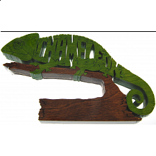 Chameleon - Wooden Jigsaw