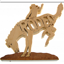 Rodeo - Wooden Jigsaw