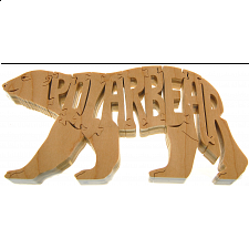 Polar Bear - Wooden Jigsaw
