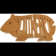 Guinea Pig - Wooden puzzle -