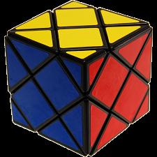 Dino Skewb Cube - Black Body -