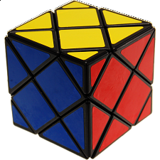 Dino Skewb Cube - Black Body - Rubik's Cube & Others