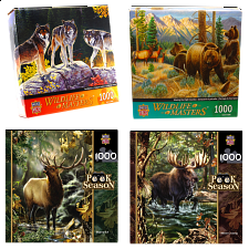 Jigsaw Puzzle Value Set - Wildlife
