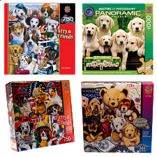 Jigsaw Puzzle Value Set - Puppies