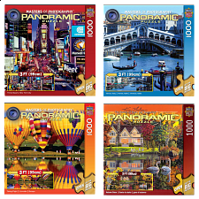 Jigsaw Puzzle Value Set - Panoramics