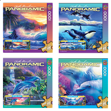 Jigsaw Puzzle Value Set - Ocean Panoramics