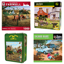 Jigsaw Puzzle Value Set - Farm