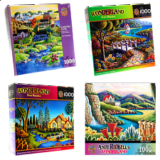 Jigsaw Puzzle Value Set - Art Collection