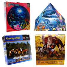 Jigsaw Puzzle Value Set - Animals