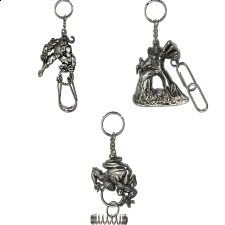 Group Special - A set of 3 Marvel Heroes Puzzle Keychains - Other Wire / Metal Puzzles