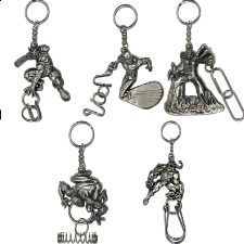 Group Special - a set of 6 Marvel Heroes puzzle keychains