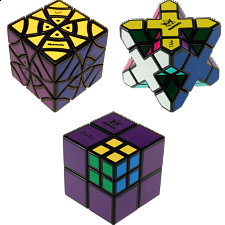 Group Special - a set of 3 Puzzle Master Rotational Puzzles - Meffert's Rotational Puzzles