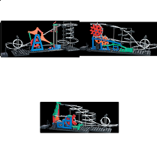 Space Rail Second Generation Set
