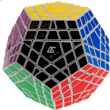 Gigaminx Cube4You - White Body - Other Rotational Puzzles