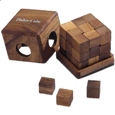 Philos-Cube - European Wood Puzzles