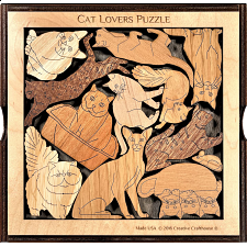 Cat Lovers Puzzle - Other Wood Puzzles