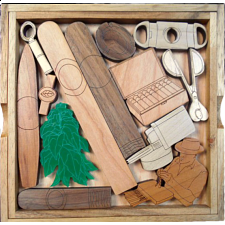 Cigar Lovers Puzzle - Other Wood Puzzles