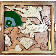 Baseball Fanatic Puzzle - Other Wood Puzzles