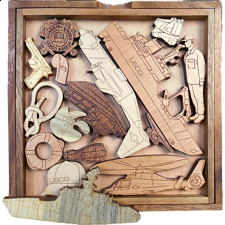 Coast Guard Challenge - Other Wood Puzzles