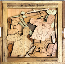 At the Salon - Other Wood Puzzles
